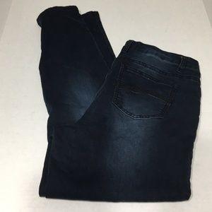 Revolution by Revolt Women dark skinny jeans 14 W